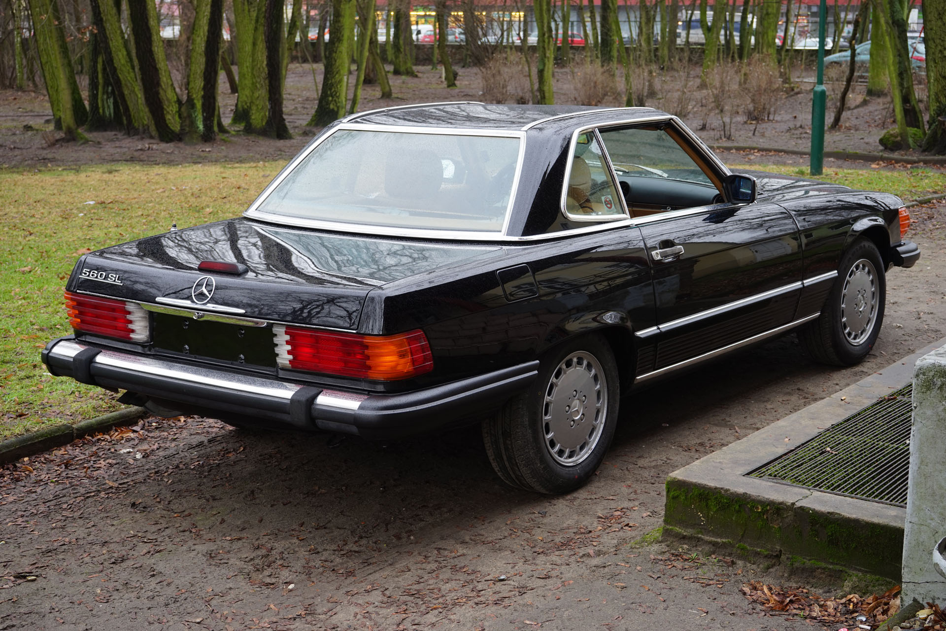 mercedes benz 560 sl r107 1987 artmet classic car. Black Bedroom Furniture Sets. Home Design Ideas