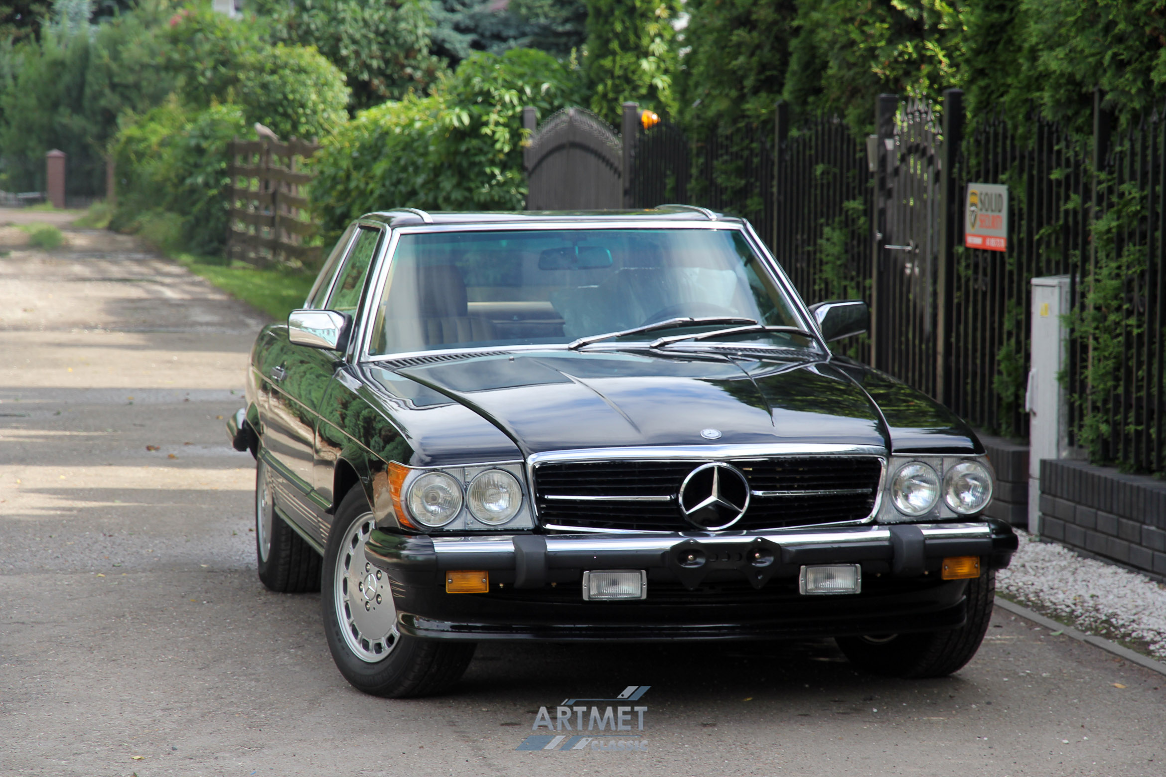 mercedes benz 560 sl r107 1988 artmet classic. Black Bedroom Furniture Sets. Home Design Ideas